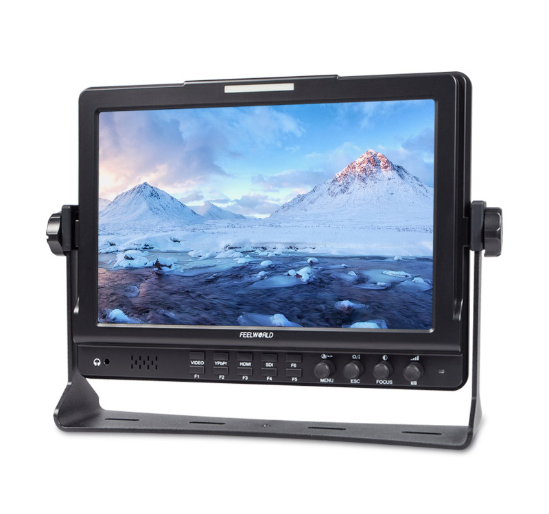 FW1018S SDI 10.1 IPS DSLR Camera Monitor 1280*800 3G-SDI HDMI Camera-Top Field Monitor P0025551 aputure digital 7inch lcd field video monitor v screen vs 1 finehd field monitor accepts hdmi av for dslr