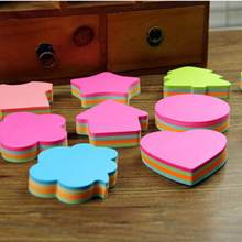 Multicolor Sticky Notes น่ารัก Kawaii Love Memo แผ่นสติก(China)