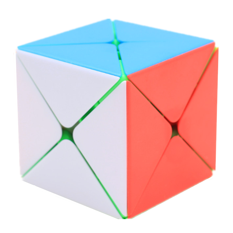 Shengshou Legend 8 Axis Magic Cube Dino Skew Cube 57mm Twist Puzzles Professional Educational Kid Toys Games