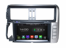 1024*600 Quad Core 8″ Android 5.1 Car dvd player for Toyota PRADO 2010-2013 With Radio GPS 3G WIFI Bluetooth TV USB 16gb rom