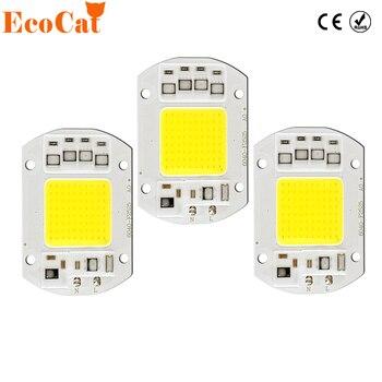 LED Lamp COB 50W 220V 5W 10W 20W 30W 230V Input Smart IC Driver Fit For DIY LED Floodlight Spotlight Cold White Warm White