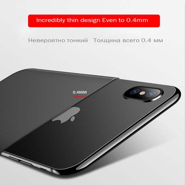 Custodia di iPhone 7 Custodia iPhone 8 03 mm UltraSlim Caso