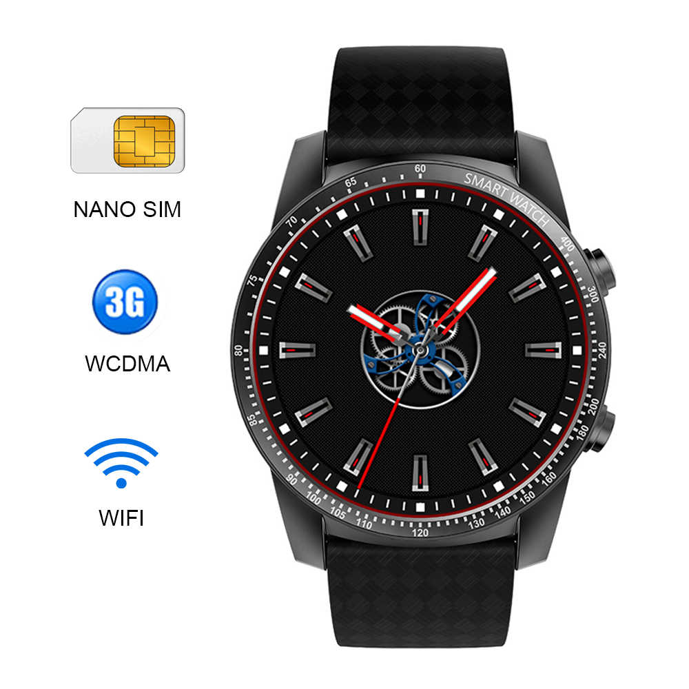 Reloj inteligente Kaimorui KW99 Pro/H1 GPS tarjeta SIM para Hombre 1G + 16GB pulsera de ritmo cardíaco WiFi deporte SmartWatch conectar Android IOS PK KW88