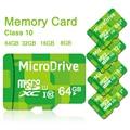 Карта памяти Карта Micro Sd карты Памяти 8 ГБ 16 ГБ 32 ГБ 64 ГБ класс 10 Microsd TF карта Ручка привода флэш-Зеленый