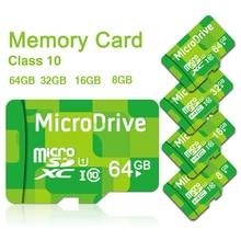 Флэш-зеленый привода microsd класс tf sd памяти micro карта карты ручка