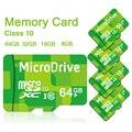 Tarjeta de memoria tarjeta sd micro tarjetas de memoria 8 gb 16 gb 32 gb 64 gb clase 10 microsd tf pen drive flash verde
