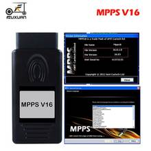 FUXUAN A+++ Quality ECU Chip Tuning MPPS V16.1.02 for EDC15 EDC16 EDC17 Inkl CHECKSUM CAN Flasher Remapper цена