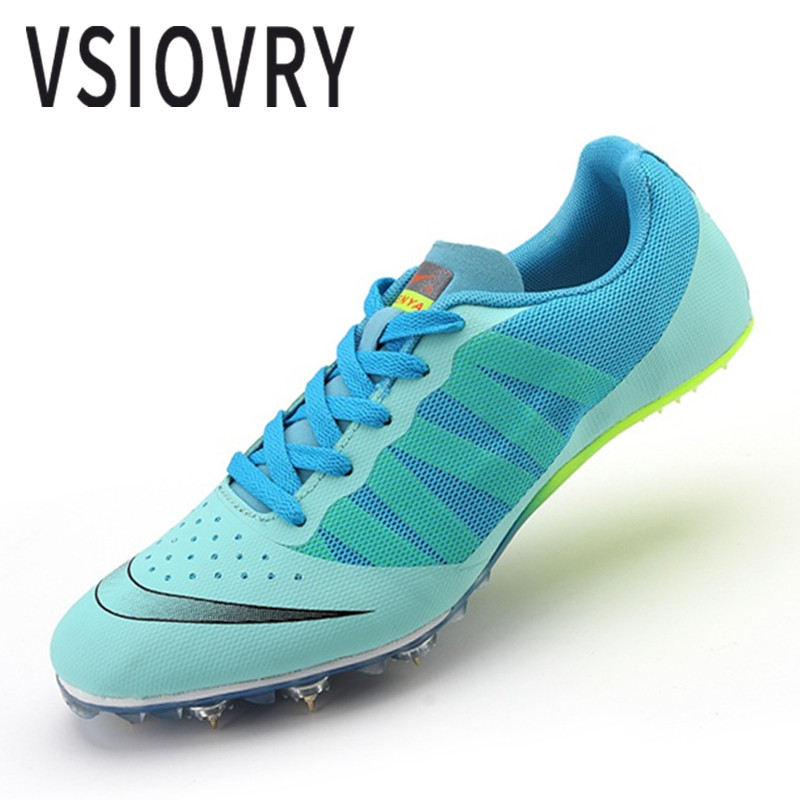 VSIOVRY New Unisex Trail Sports Running Shoes For Men Athletic Spikes Sprint Training Jogging Sneakers Women Outdoor Sport Shoes mulinsen brand new autumn men running shoes outdoor sports shoes breathable jogging training sneakers 270102
