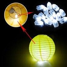 Горячая Рождество компактный светодиодный шар лампы цветной бумажный фонарик шар свет для свадьбы Рождество День рождения украшения поставки