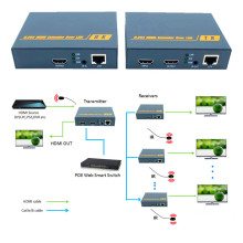 ZY-DT209 200m HDMI Over IP Network Extender With IR 1080P HDMI Via RJ45 CAT5 CAT5e CAT6 LAN Extensor 656ft Like HDMI Splitter