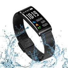 Купить с кэшбэком X3 Smart Watch Men Women IP68 Fitness Tracker Smart Bracelet Heart Rate Blood Pressure Fashion Sport Band