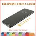 Высокое Качество Для iPhone6 plus 5.5 дюймов красочные металл Назад крышка Корпуса Рамка Шасси замена чехол для iphone 6 plus золото