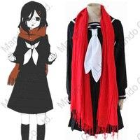Anime MekakuCity Actors Tateyama Ayano Cosplay Costume Girls Uniform Dress Women Halloween Cosplay Party Outfit
