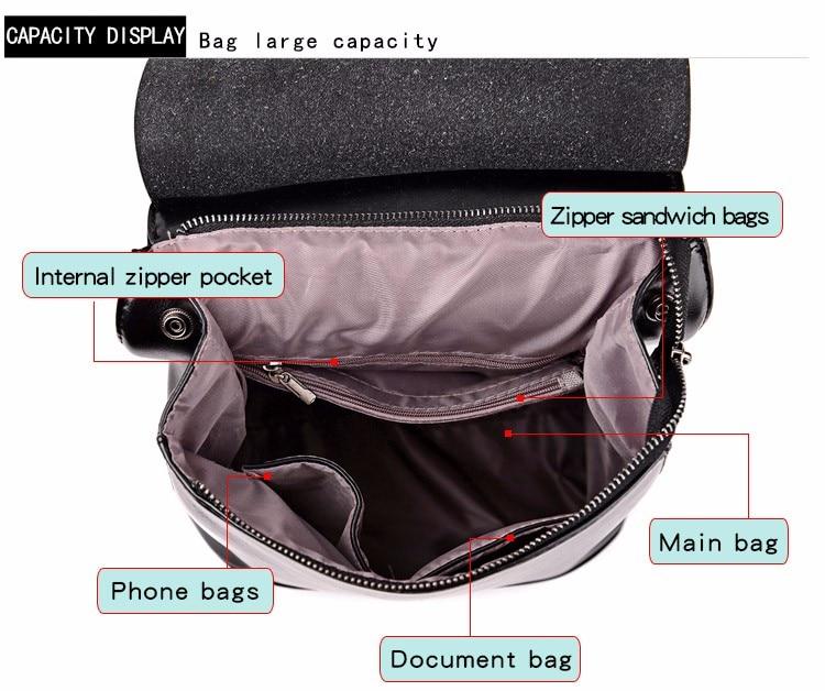 HTB1q431X1OSBuNjy0Fdq6zDnVXar 2018 HOT Fashion Women Backpack High Quality PU Leather Backpacks for Teenage Girls Female School Shoulder Bag Bagpack mochila