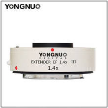 Yongnuo YN1.4XIII YN 1.4XIII Extender EF 1.4X Teleconverterเลนส์โฟกัสสำหรับCanon Fullออโต้โฟกัส 1D X 1Ds 1D 70D 7D 80D 7DI