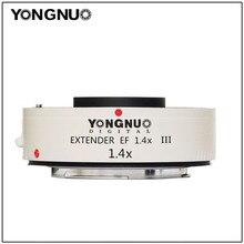 Yongnuo YN1.4XIII YN 1.4XIII Extender śladu środowiskowego 1.4X telekonwerter automatyczne ustawianie ostrości obiektyw do modeli Canon pełne automatyczne ustawianie ostrości 1D X 1Ds 1D 70D 7D 80D 7DI