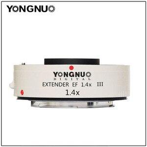 Image 1 - Yongnuo YN1.4XIII YN 1.4XIII Extender śladu środowiskowego 1.4X telekonwerter automatyczne ustawianie ostrości obiektyw do modeli Canon pełne automatyczne ustawianie ostrości 1D X 1Ds 1D 70D 7D 80D 7DI