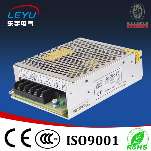 S-35 Switching Power Supply <font><b>AC</b></font> <font><b>DC</b></font> Transformer Single Output 35W 5V 12V 15V <font><b>24V</b></font> <font><b>1.5A</b></font> to 7A image