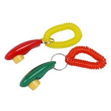 Тренировочный кликер i click clickers с ремешком на запястье-красный и зеленый, для тренировка кликеров-2 шт