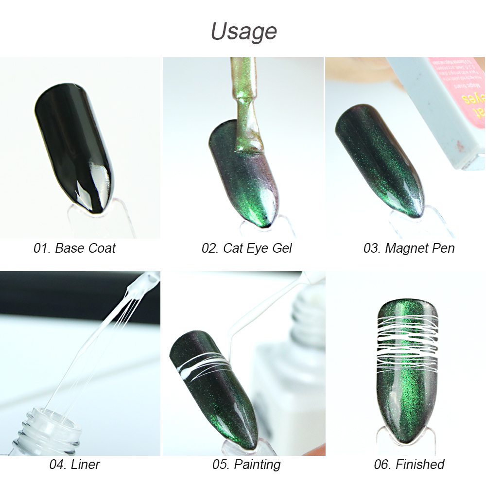 Image 5 - 12pcs Nail Spider Gel Wire Painting UV Gel Creative Nail Art Drawing Gel Varnish Pulling Silk Elasticity Nail Gel Polish BE731 1-in Nail Gel from Beauty & Health