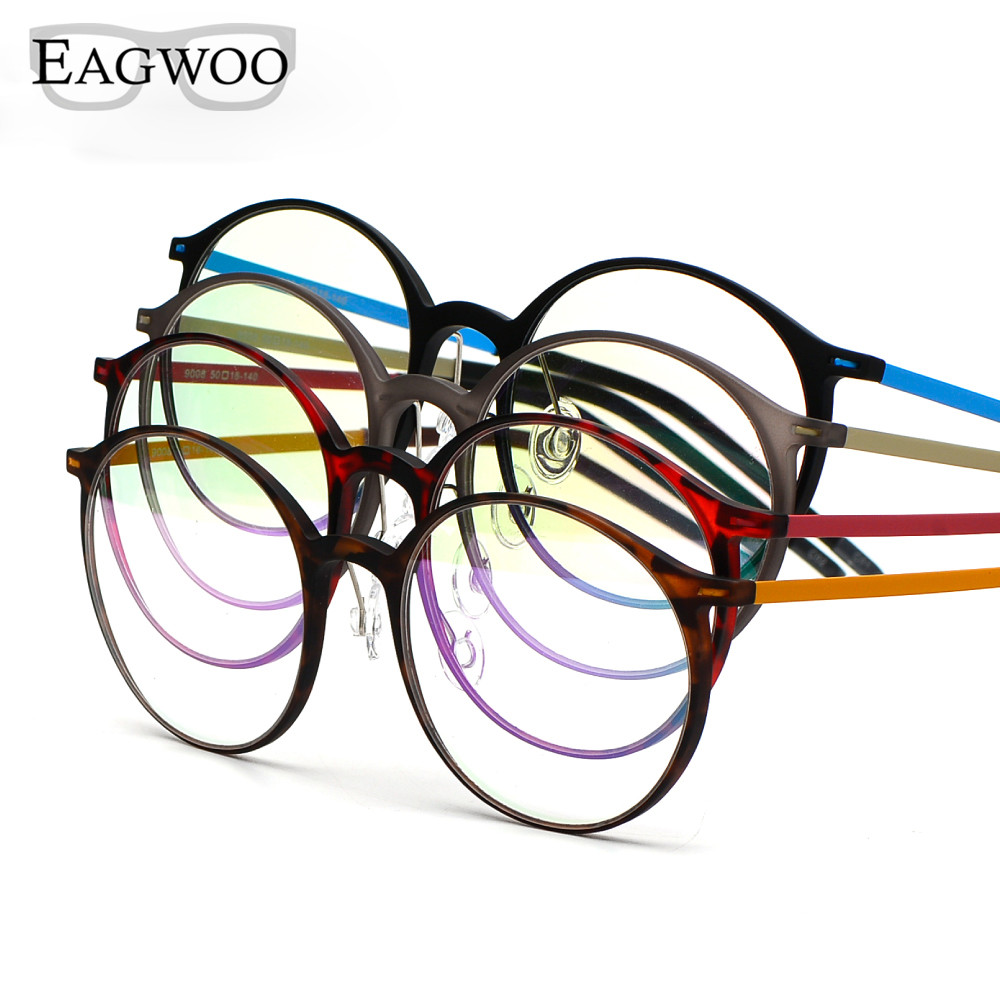 EAGWOO EMS Pure Titanium naočale Big Retro Harry Potter Optički - Pribor za odjeću - Foto 4