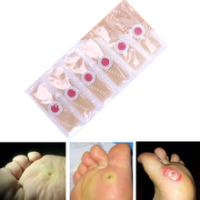 6 PCS Detox Foot Pads Patches Feet Care Medical Plaster Corn Removal Remover Calluses Plantar Warts Thorn Health