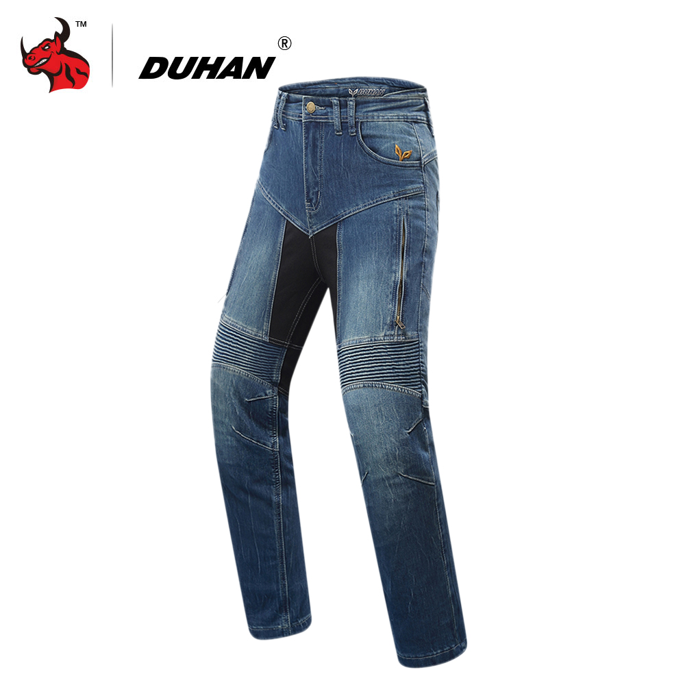 DUHAN Motorcycle Pants Women Motorcycle Jeans Motocross Riding Pants Pantalon Motocross Protection Motorsiklet Jeans Trousers nonis women jeans full length light flared trousers slim denim pants high waist jeans 2017 autum female pantalon plus size