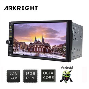 "Image 5 - ARKRIGHT 7"" 2 Din Head Unit Android 8.1 auto player/car stereo/GPS Navigation SC98534 Support DSP/SWC/fast boot HU"
