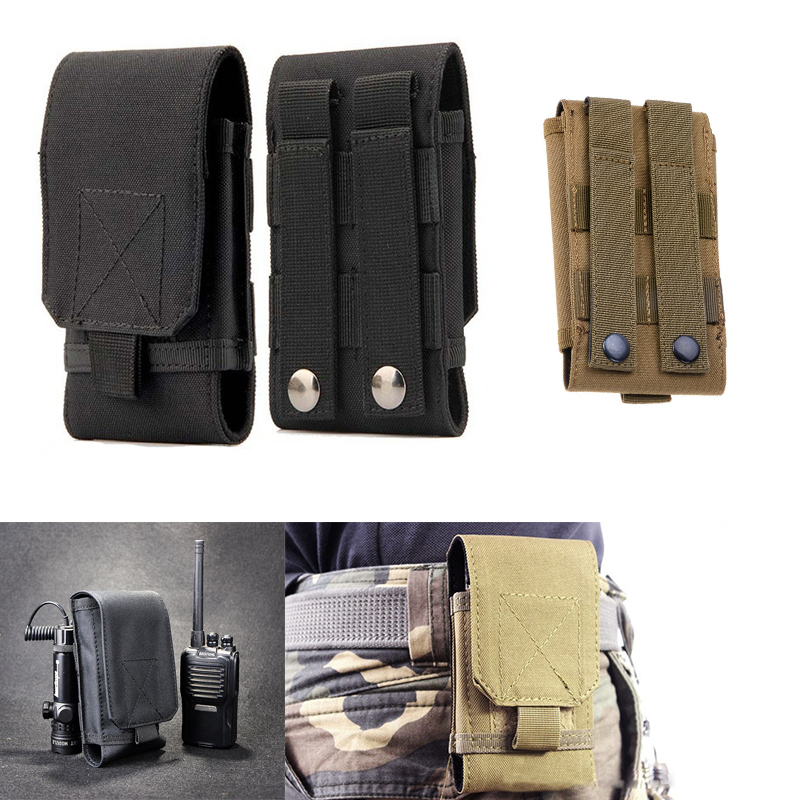 Tactical Moblle Pouch Military Men Waist Belt Bag Hip Wallet Pouch Small Pocket Running Purse Outdoor Phone Travel Camping Bags