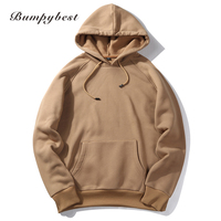 US Size 2017 Fashion Hooded Funny Solid Colors Men And Women Hoodies Fitness Streetwear Hip Hop