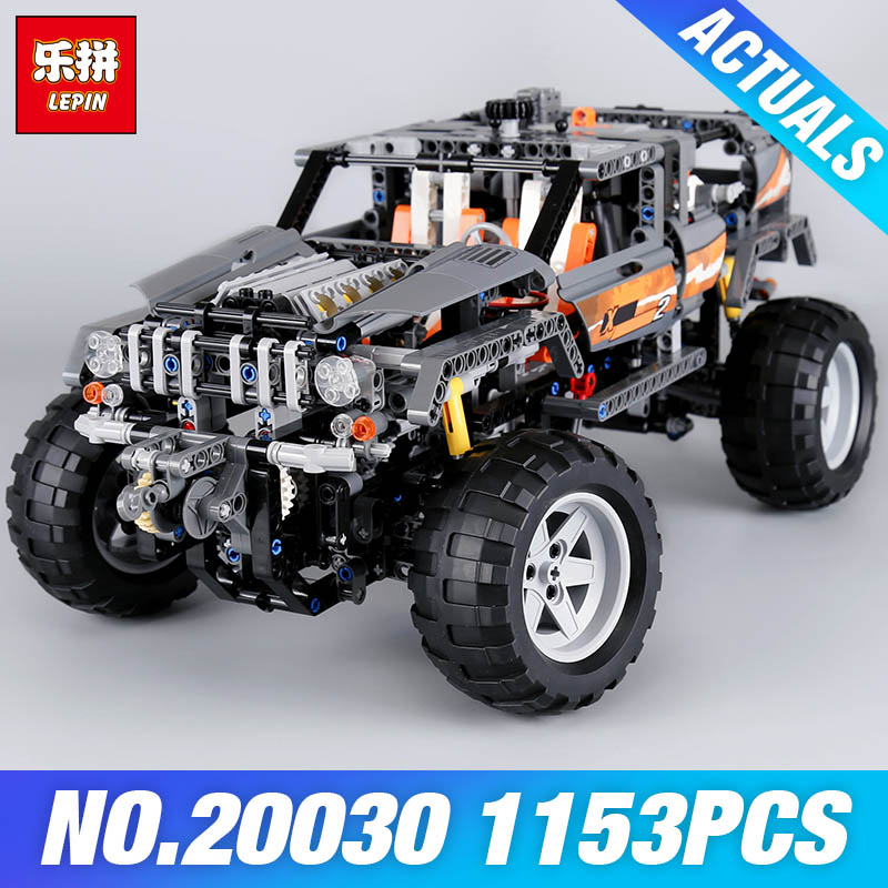 Lepin 20030 1132Pcs Technic Ultimate Series The Off-Roader Set Children Educational Building Blocks Bricks DIY Toys Model 8297 cheerlink zm 81 3mm neodymium iron diy educational toys set silver 81 pcs