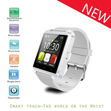 2016 NEW Bluetooth Smart Watch WristWatch U Watch U8 for iPhone 4/4S/5/5S Samsung S4/Note 2/Note 3 HTC Android Phone Smartphones