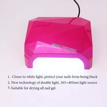 Automatic sensor White Light 36W UV Led Lamp Beauty Makeup Cosmetic Nail Dryer Polish Machine for Curing Nail Art Tools