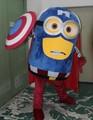 2017 Nuevo Capitán América Adultos Traje de La Mascota Por Encargo Adulto Despicable Me Minion Traje de La Mascota Shiping Libre