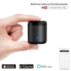 BroadLink RM Mini3 RM Mini 3 IR Hub Alexa Echo Google Home mini Assistant IFTTT Voice Control WiFi Universal Remote Smart Home