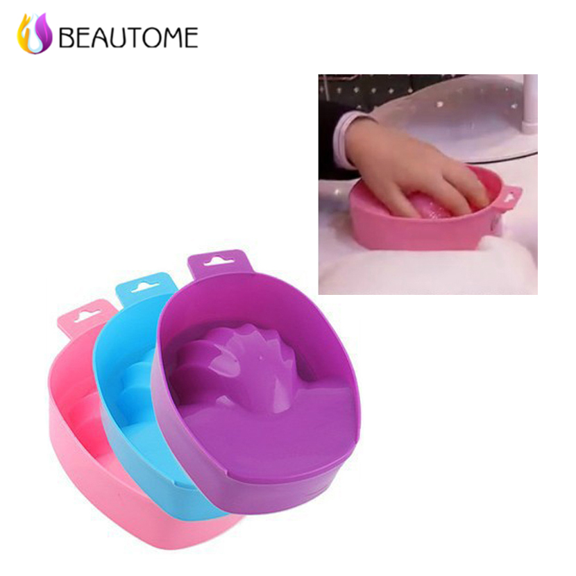 Nail Art Foam Hand Bowl Nail Art Tools Supplies Clean Finger After ...