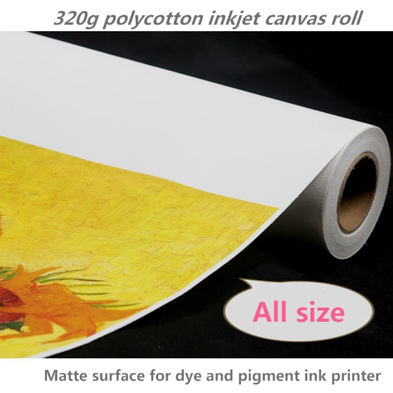 Painting Supplies Clever 42in Printable Arts Silk Fabric Canvas 42*30m Roll Painting Canvas