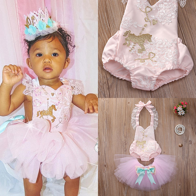 Baby Girl Clothing Sets Bodysuits Tutu Skirt Outfits Tops Set  Newborn Infant Baby Girls Clothes Set Sleeveless newborn toddler girls summer t shirt skirt clothing set kids baby girl denim tops shirt tutu skirts party 3pcs outfits set