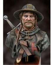 1/10 Oude Warrior Na De Battle Buste (Met Voet) Resin Figuur Model Kits Miniatuur Gk Unassembly Unpainted