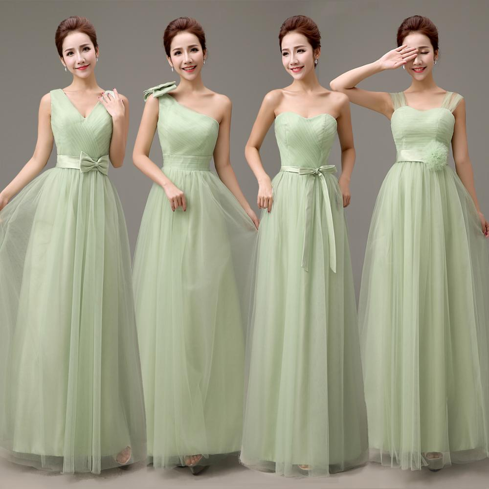 Yellow green bridesmaid dresses vosoi popular bridesmaids dress green buy cheap bridesmaids dress green ombrellifo Gallery