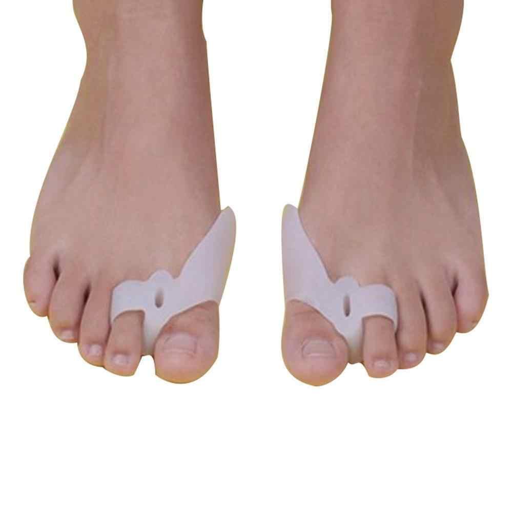 2 шт Силиконовые буйон пальцы ног корректор ортопедический выпрямитель сепаратор облегчение боли Горячий
