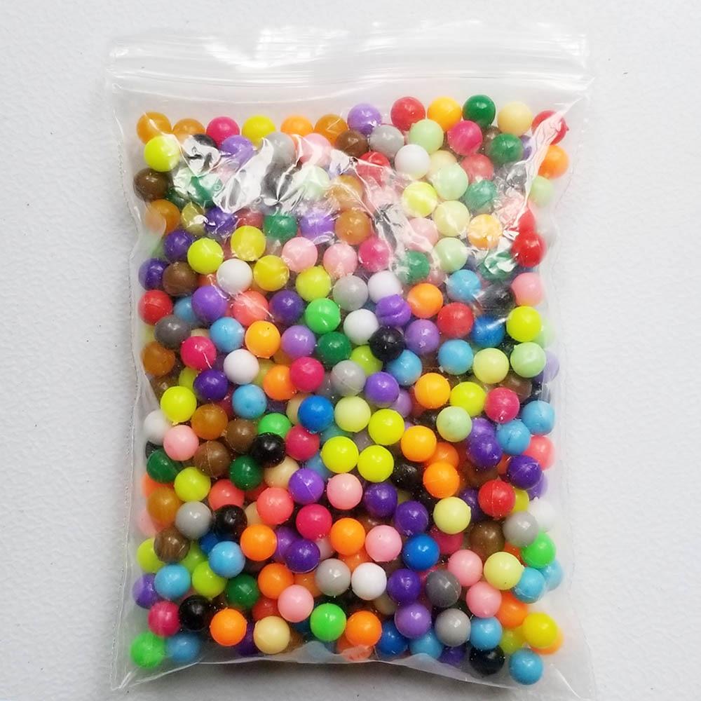 24 цвета, 500 шт, 5 мм, бусины с распылителем воды, сделай сам, 3D головоломка, игрушка, Хама, бусины, магические бусины, развивающий подарок, вода, Perlen, обучающие игрушки для детей - Цвет: Magic Beads