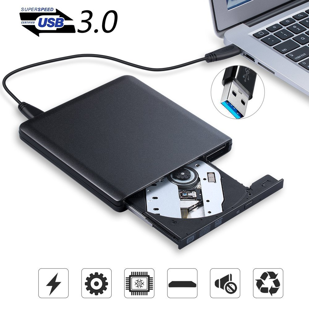 Externe Optische Stick USB 3.0 DVD Brenner DVD ROM Player CD/DVD-RW Schriftsteller Recorder Tragbare Sticks für Laptop Windows7/ 8/10