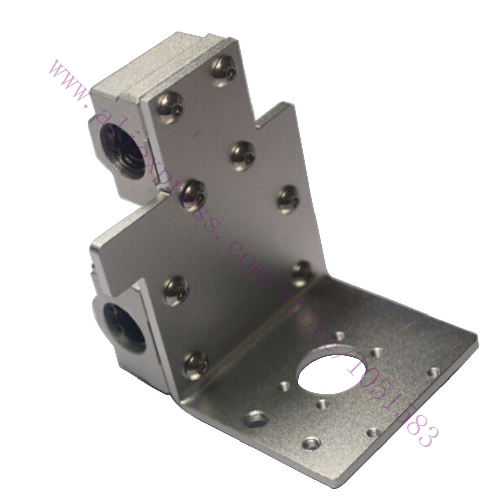 Reprap Prusa i3 3D Printer Parts X Axis Printing Head X Metal Exturder Carriage Aluminum Alloy 45mm