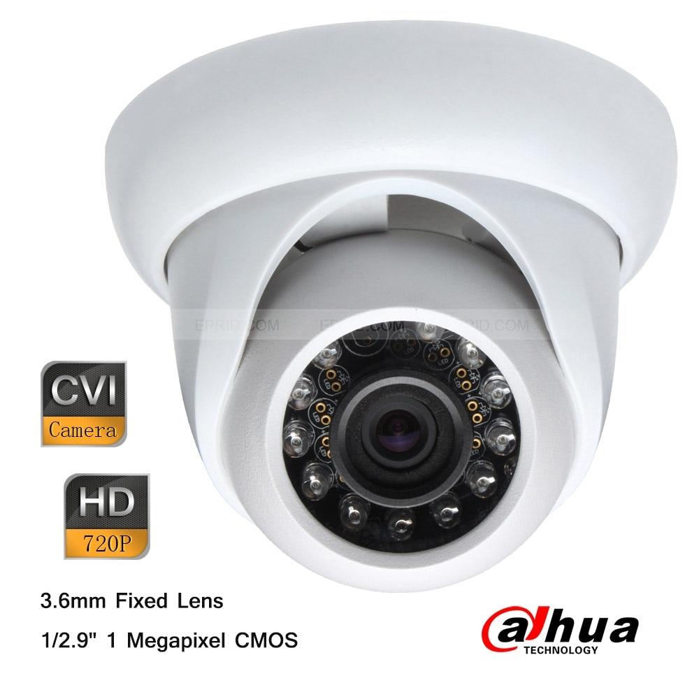 ФОТО Dahua 1Megapixel 720P 30m Smart IR HDCVI Mini Plastic Dome 3.6mm Lens Camera