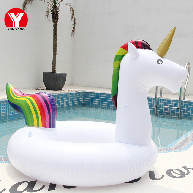 Adult UNICORN SWIMMING Circle Float Unicorn Ring Inflatable Unicorn Water Swimming Circle for Adults Party Pool Toys Unicorn