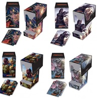 Mtg Card Box Crazy Kids Board Game Commander 100+ 4 Optional Card Box With Drawer