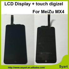 1PCS Black High quality Touch Screen 5 36inch For Meizu MX4 LCD Display Panle with Digitizer