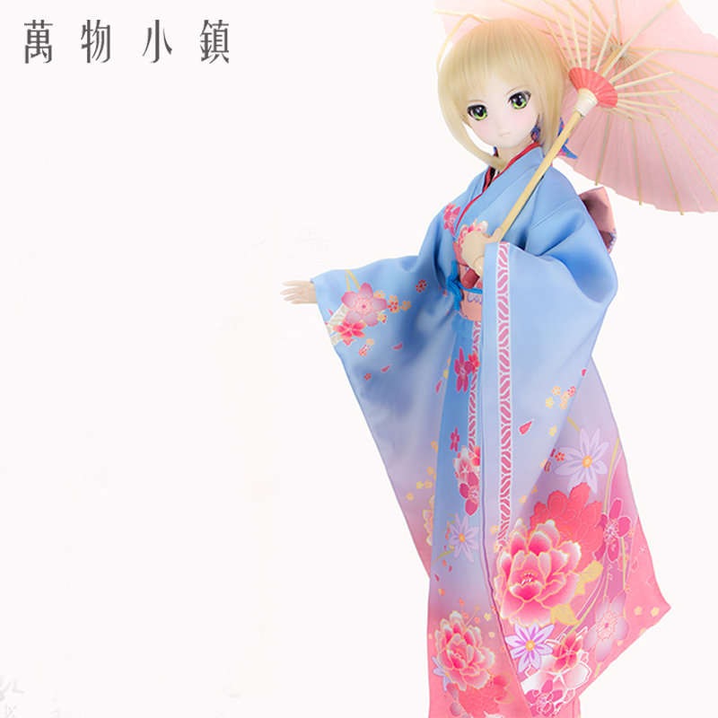 Aceitar personalizado Fate/Grande Ordem sabre Cosplay Lindo Terno Kimono COS BJD 1/3 1/4 SD DD DDL/S MSD Roupa Da Boneca