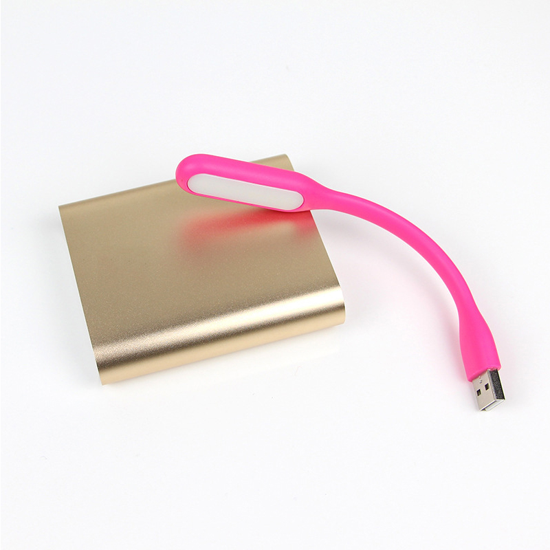 Multicolor Mini Car-styling Reading Lamp USB LED Light Computer Lamp for Notebook PC Laptop Reading Night Silica Gel 10